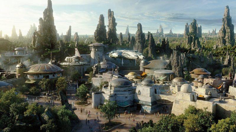 Star Wars Land Concept