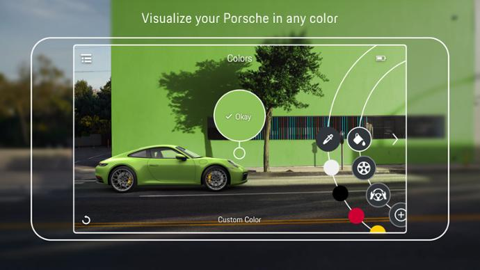 The Porsche Augmented Reality Visualizer App
