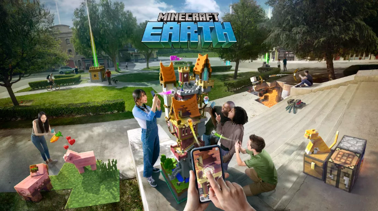 Minecraft Earth Live Demo