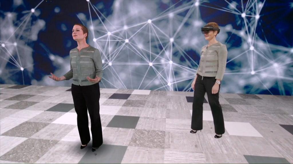 HoloLens Hologram at Microsoft Inspire