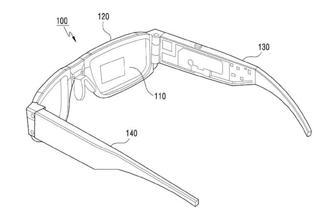 Samsung Foldable Smart Glasses