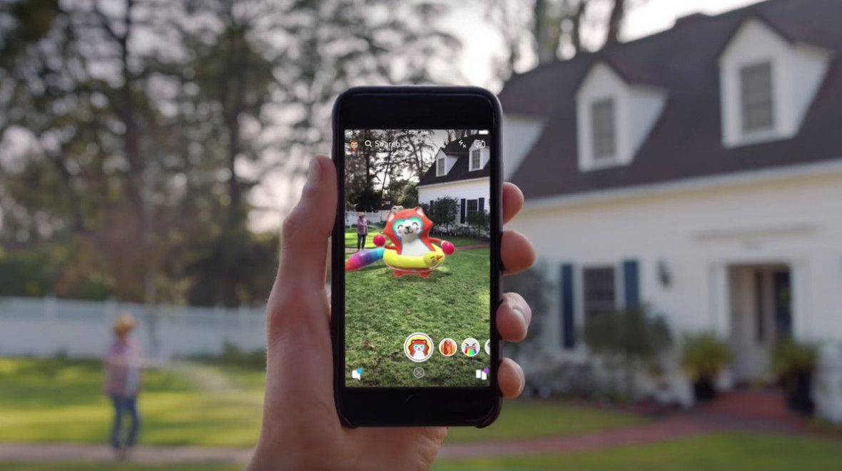 Snapchat Augmented Reality Lens