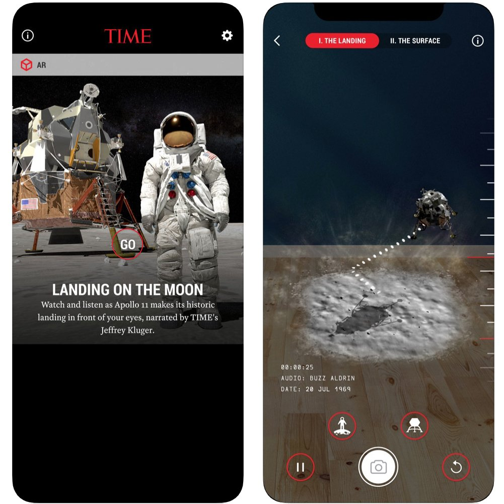 TIME Immersive AR App