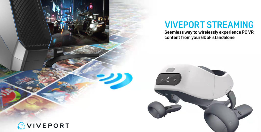 HTC Vive Viveport Streaming