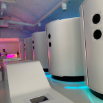 Otherworld is a Hyper Futuristic Neon-Themed VR Arcade in London With Interiors Inspired by James Turrell