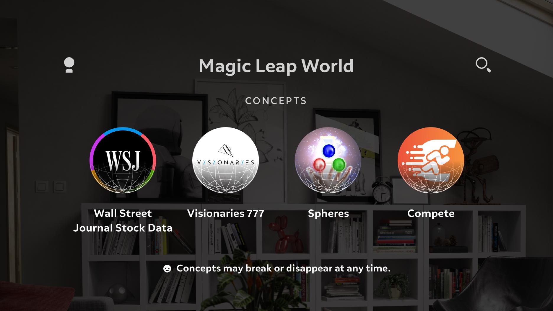 Magic Leap Concepts