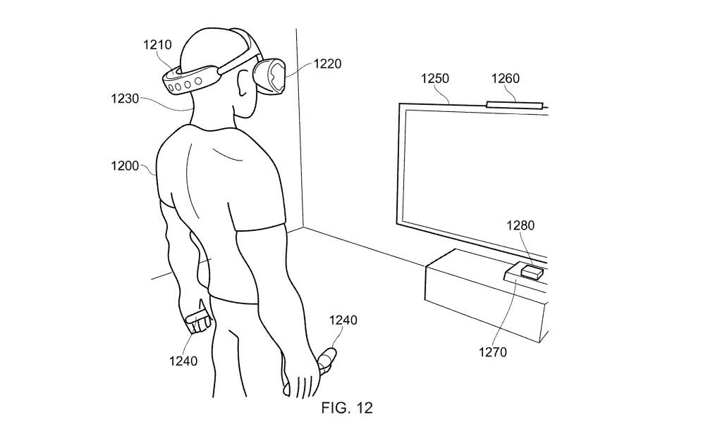 New Sony PSVR Patent Design