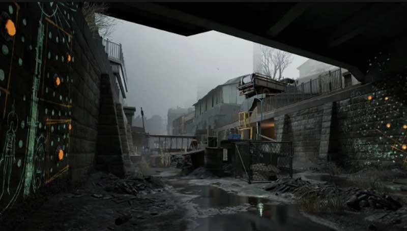 Half-Life: Alyx some wetness